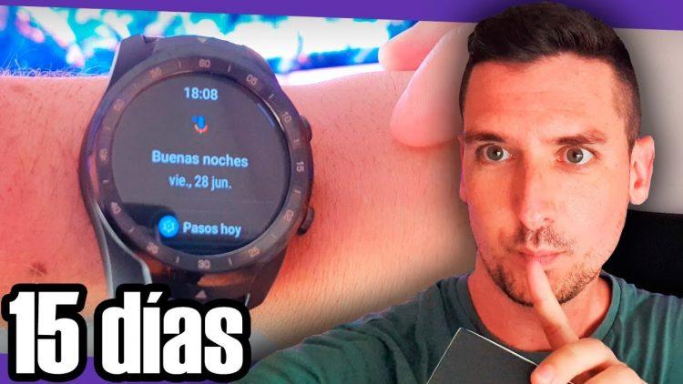 15 días usando un smartwatch con Google Assistant: Ticwatch Pro