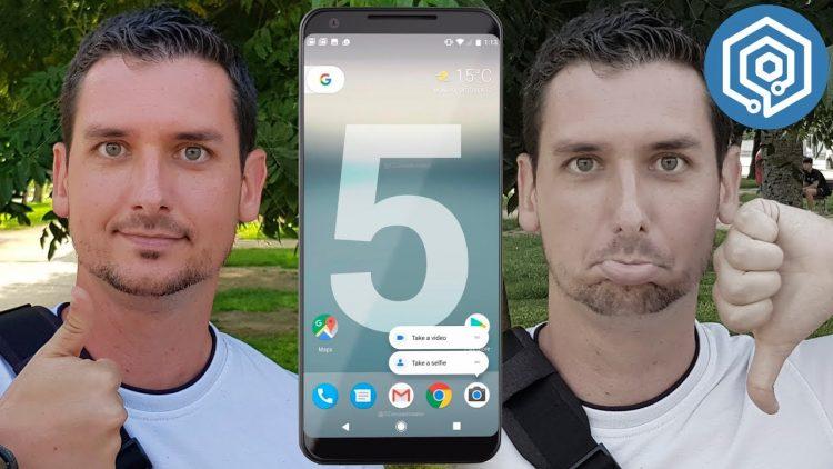 5 cosas que me han gustado y 5 que no del Google Pixel 2 y Pixel 2 XL