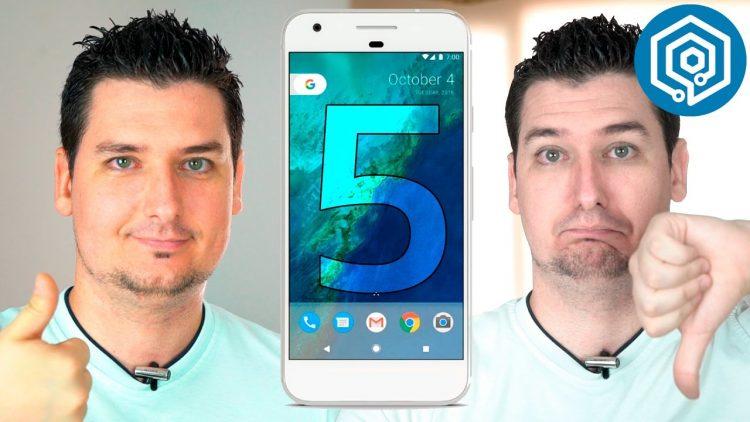 5 cosas que me han gustado y 5 que no de los nuevos Google Pixel