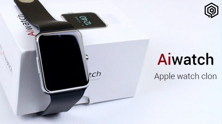 Aiwatch – El primer clon del Apple Watch