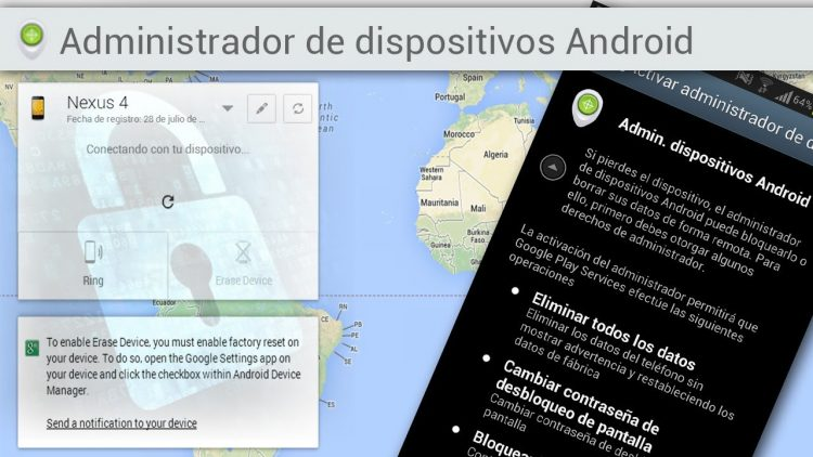 Android Device Manager – La Aplicación Anti-robo de Google