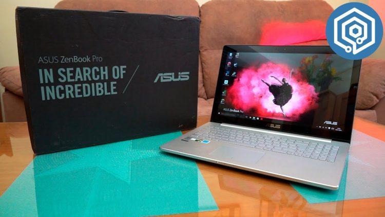 Asus Zenbook Pro UX501JW | El portátil que pone en jaque al Macbook pro