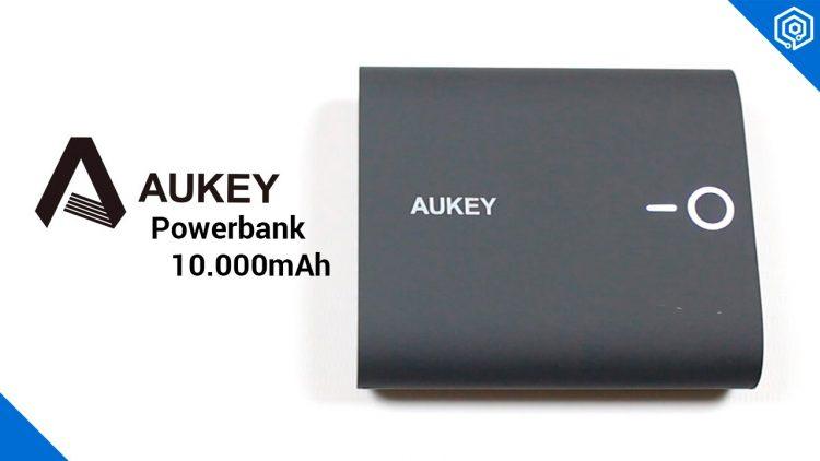 Aukey Powerbank 10000mAh | Carga hasta 2 dispositivos a la vez en tu bolsillo!