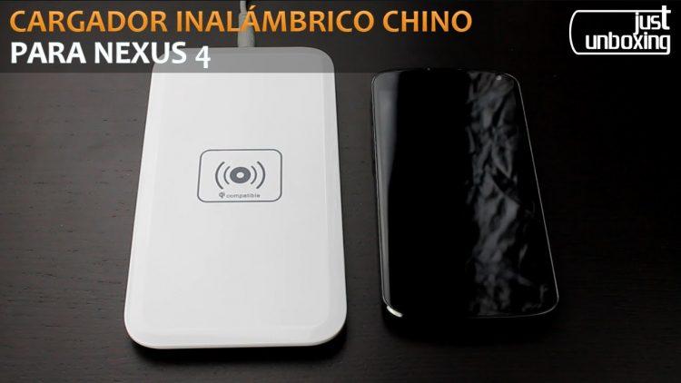 Cargador Inalámbrico Qi (Chino) para el Nexus 4 | Bueno, Bonito y Barato | Just Unboxing