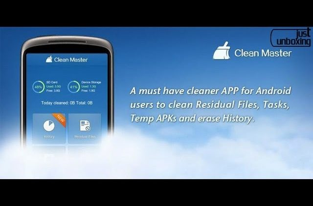 Clean Master – Mantén limpio tu dispositivo Android | Aplicaciones Android | Just Unboxing