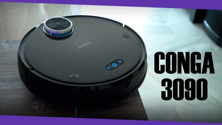 Conga 3090 | El robot aspirador guiado por láser!!