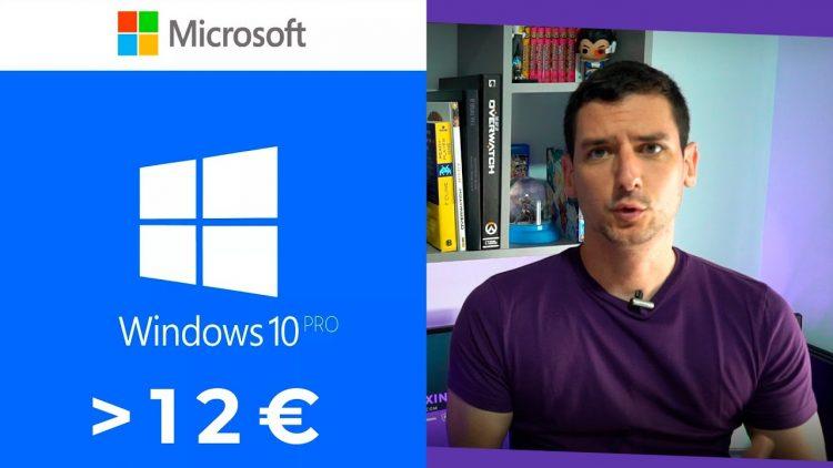 Consigue Windows 10 Pro por menos de 12€