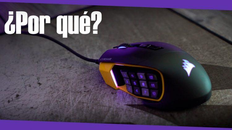 Corsair Scimitar Pro | ¿Por qué uso un ratón con 12 botones?