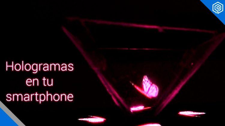 Crea hologramas 3D con tu smartphone