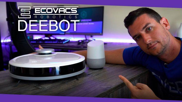 Deebot Ozmo 900: El robot aspirador compatible con Google Home!!