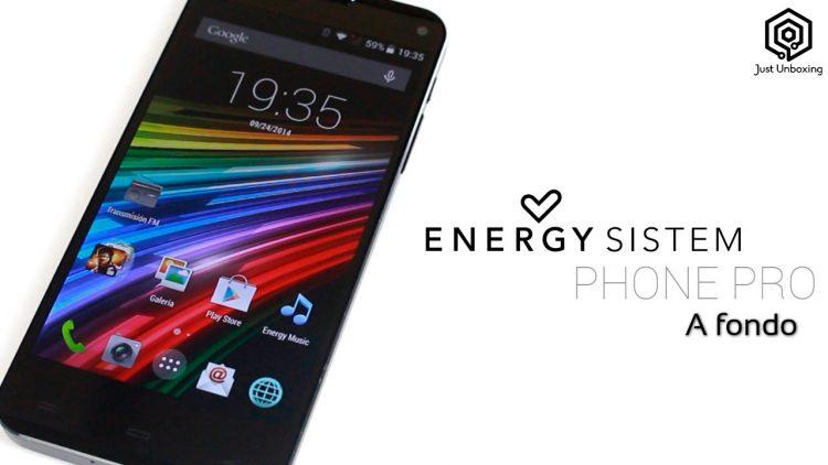 Energy Sistem Phone Pro | Análisis a fondo