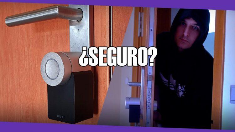 ¿Es seguro montar una cerradura inteligente en casa?