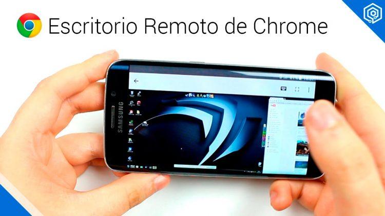 Escritorio remoto de Chrome | Controla tu PC desde tu smartphone o tablet