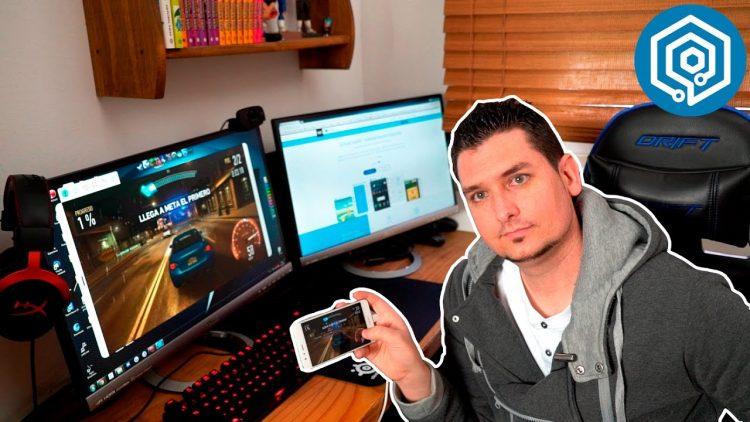 Graba los gameplays de tu Android directamente en tu PC!!