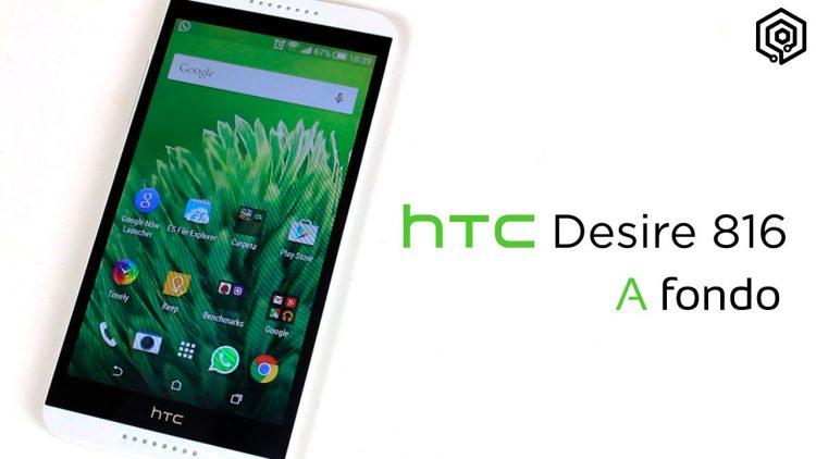 HTC Desire 816 | Análisis a fondo