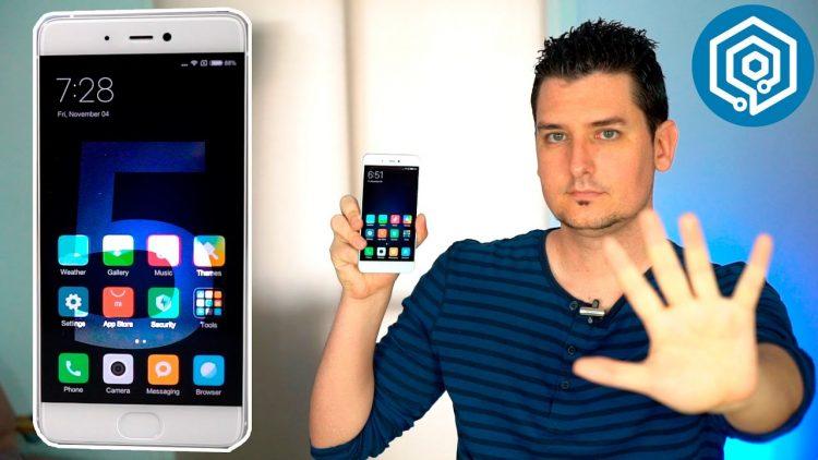 Las 5 cosas que más me han gustado del Xiaomi Mi5s