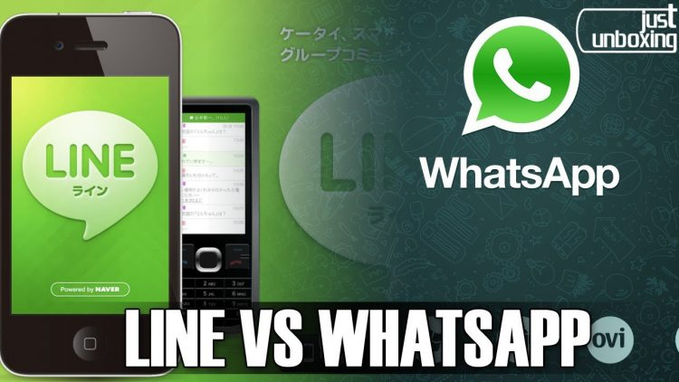 Line VS Whatsapp | Comparativa | Just Unboxing