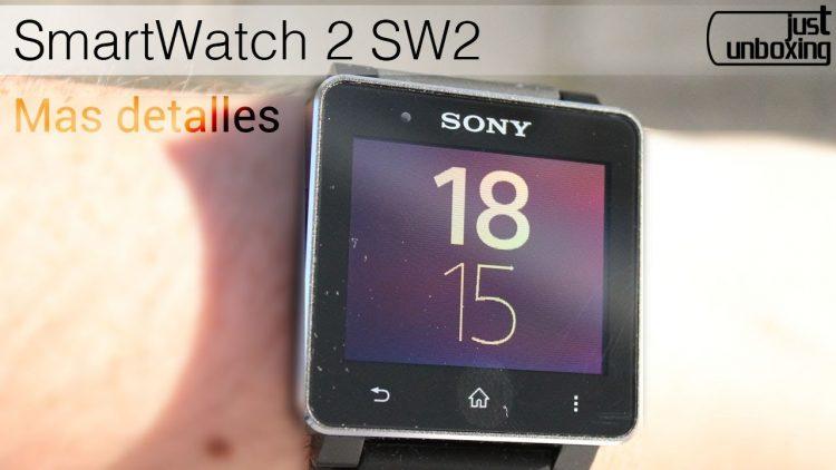 Más detalles sobre el Sony SmartWatch 2