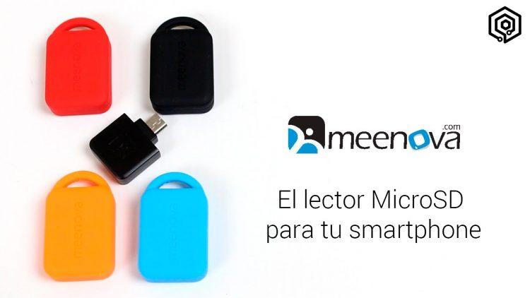 Meenova 2ª Generación | El lector de tarjetas MicroSD para tu Android