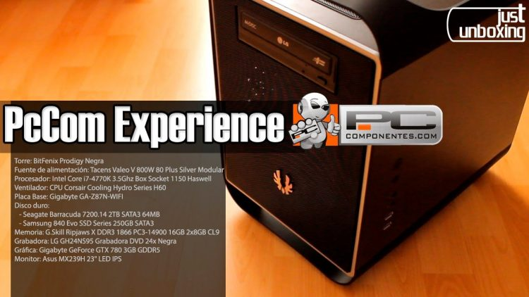 Mi nuevo PC: PcCom Experience