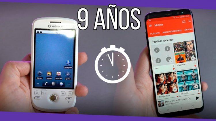 Mi primer teléfono Android y como han evolucionado en los últimos 9 años