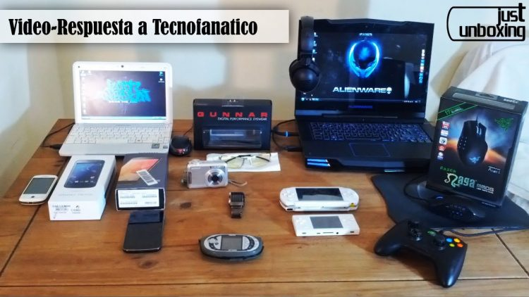 Mis productos tecnológicos | Video-respuesta a Tecnofanatico | Just Unboxing