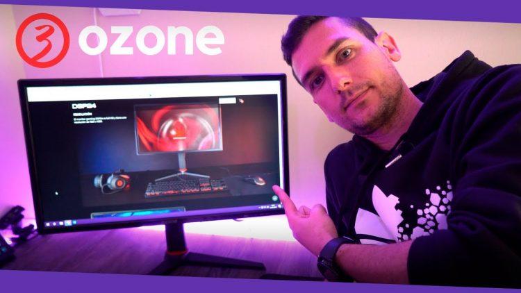Monitor gaming Ozone DSP24 con 144hz de refresco ¿merece la pena?
