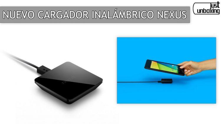 Nuevo cargador inalámbrico Nexus
