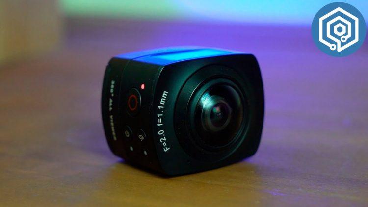 OKAA Camera | La cámara deportiva que graba en 360º