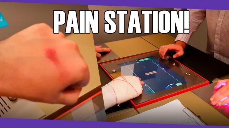 Pain Station, el videojuego que te castiga cuando pierdes!!