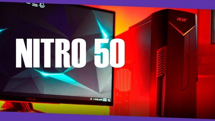 Ponemos a prueba el nuevo Acer Nitro 50