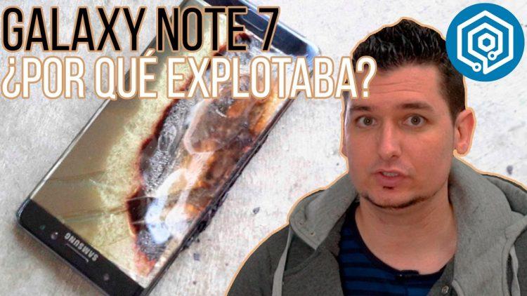 ¿Por qué explotaba el Galaxy Note 7 y que hará Samsung para evitar que vuelva a pasar?