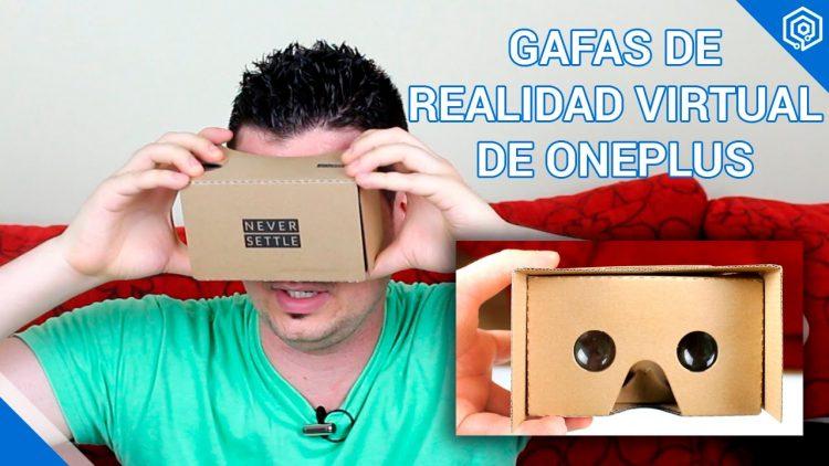 Probamos las gafas de Realidad Virtual de OnePlus