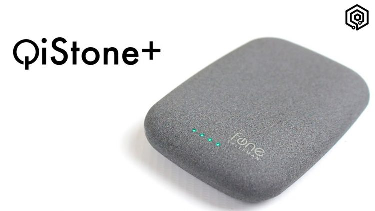 Qi Stone+ | Un powerbank inalámbrico con apariencia de piedra