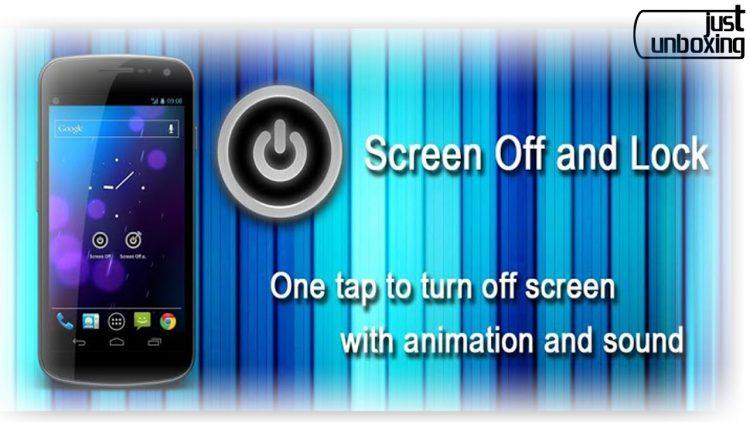 Screen Off – Apaga la pantalla sin usar el botón power | Aplicaciones Android | Just Unboxing