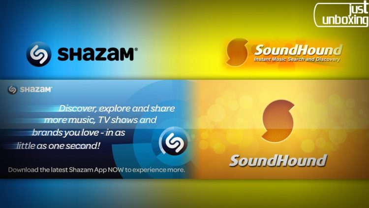 Shazam y Soundhound | Aplicaciones Android | Just Unboxing