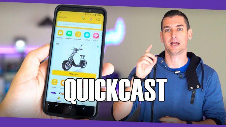 Si tienes Chromecast o Smart TV tienes que probar esta aplicación! | Quickcast para Android/iOS 2018