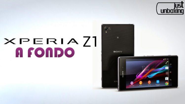 Sony Xperia Z1 – Análisis Completo