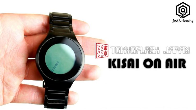 Tokyo Flash Kisai On Air | Un reloj muy original