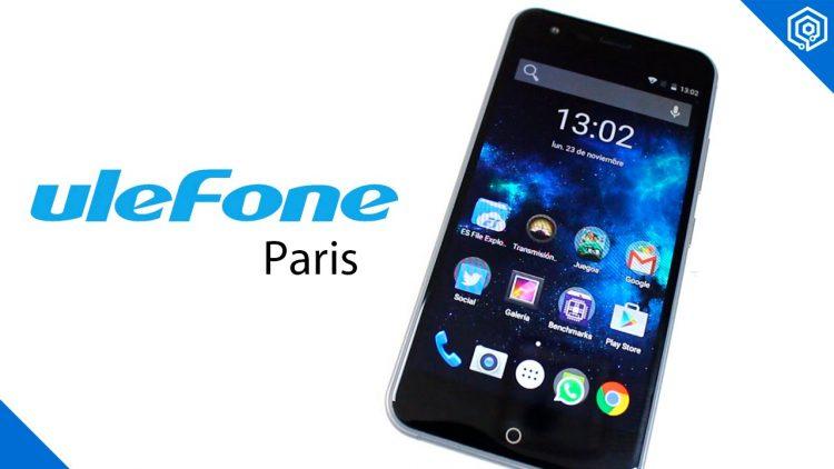 Ulefone Paris | Un teléfono barato y con un diseño espectacular