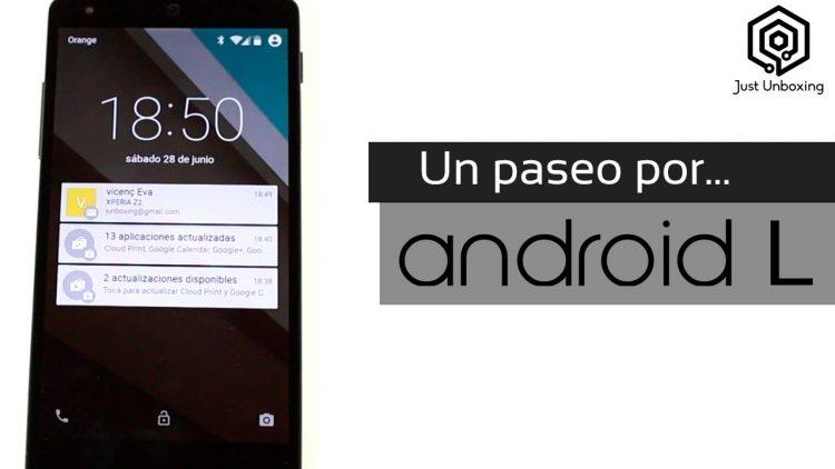 Un paseo por Android L