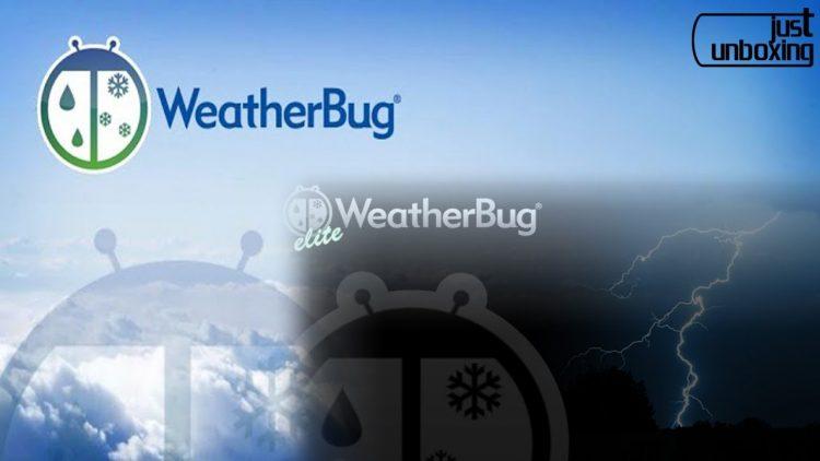 WeatherBug | Análisis de Aplicaciones | Just Unboxing