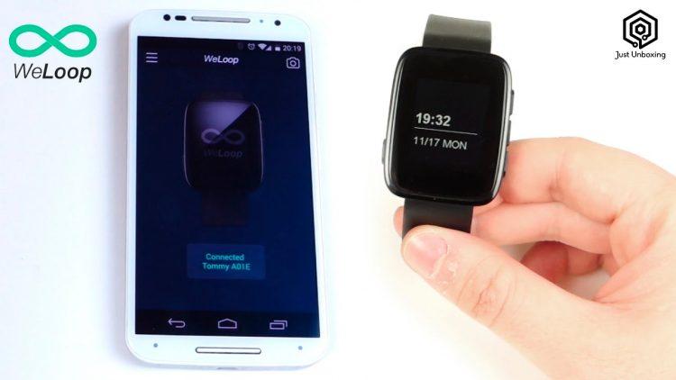 Weloop Tommy – Un Smartwatch de precio asequible