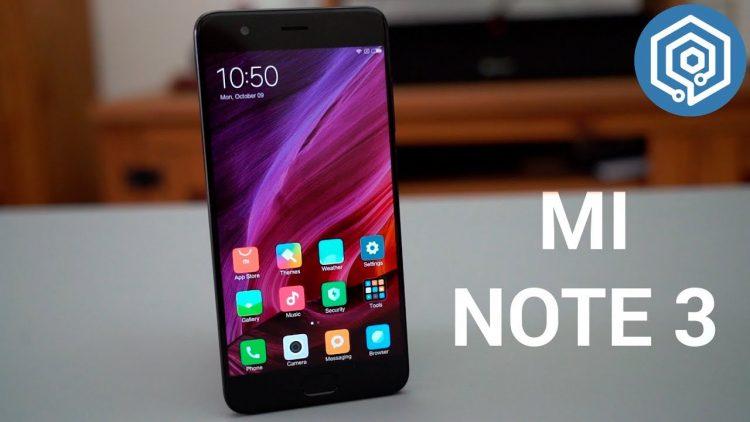 Xiaomi Mi Note 3 | Análisis a fondo