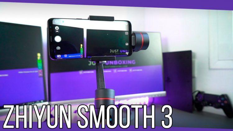 Zhiyun Smooth 3 | Un gimbal profesional para tu smartphone