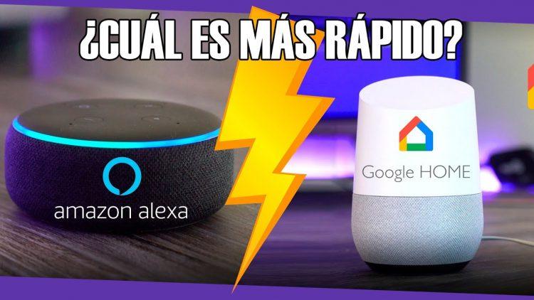 Alexa VS Google Home ¿Cuál es más rápido?