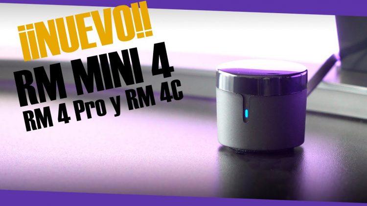 NUEVO RM MINI 4, RM 4 PRO Y RM 4C | Para controlar la TV, el aire, el toldo y más!
