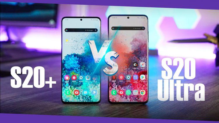 Samsung Galaxy S20+ vs Galaxy S20 Ultra ¿cuál deberías comprar?