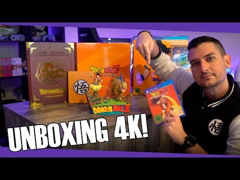Unboxing [4K] Edición coleccionista Dragon Ball Z: Kakarot