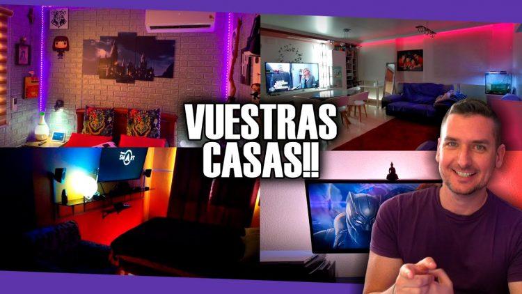 REACCIONANDO A VUESTRAS CASAS INTELIGENTES!!
